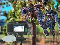 葉濡れデータロガー/土壌水分データロガー